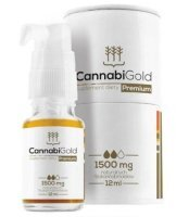 CannabiGold Premium 1500 mg olej 12 ml