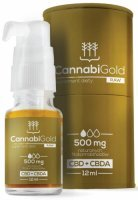 CannabiGold Raw 500 olej 12 ml
