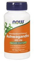 NOW Ashwagandha 450 mg 90 kps