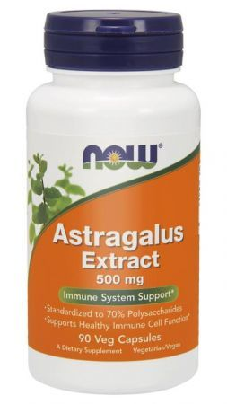 NOW Astragalus extract 500 mg 90 kps