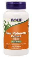 NOW Saw Palmetto Extract 160mg- 60tab