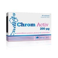 OLIMP Chrom Activ 200 mcg tabl. 0,2mg 60ta