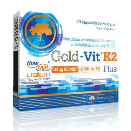 Olimp Gold-Vit K2 Plus kaps. 30 kaps.